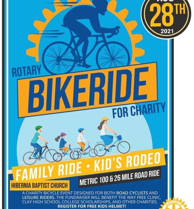 Rotary Bike Ride for Charity