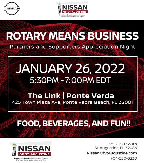 Rotary Means Business 6970 – Jan. 26, 2022 at The Link – Nocatee