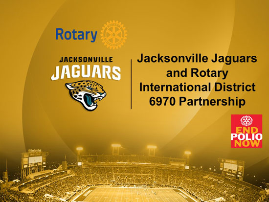 District 6970 – Jaguars Game Day – Dec. 1st